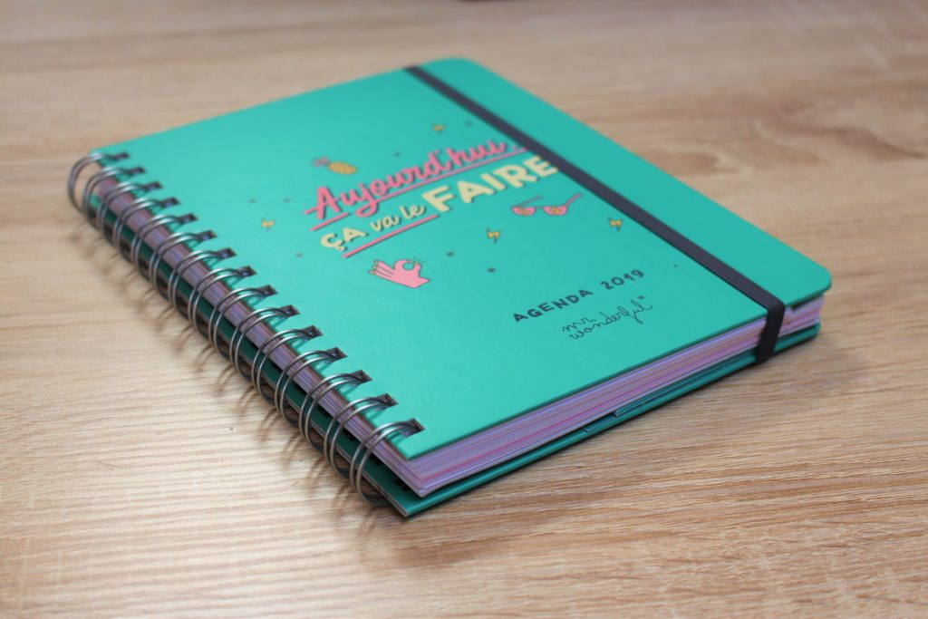Couverture de l'agenda Mr Wonderful
